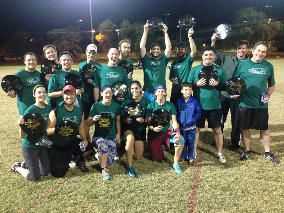 Team Pic of Throws Before Crows by Ted Bland