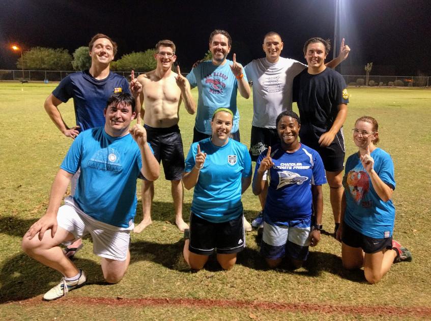Summer League Champ, Blue Hawks