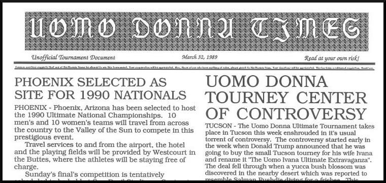 Uomo Donna Times 4/1/89
